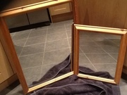 Solid pine  framed mirrors
